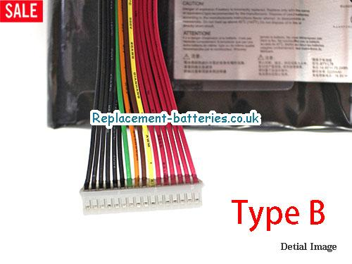 image 5 for  UK 5225mAh, 75Wh  Long Life Laptop Battery For Terrans Force S5106067T, S5-1060-67T, S5 970M 67SH1, S5 67SH1,  laptop battery