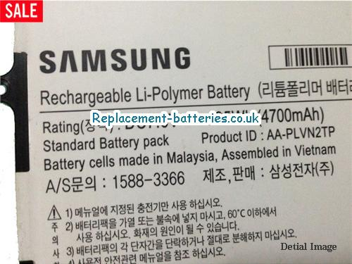 image 2 for  Genuine Samsung AA-PLVN2TP Battery AAPLVN2TP 35Wh In United Kingdom And Ireland laptop battery