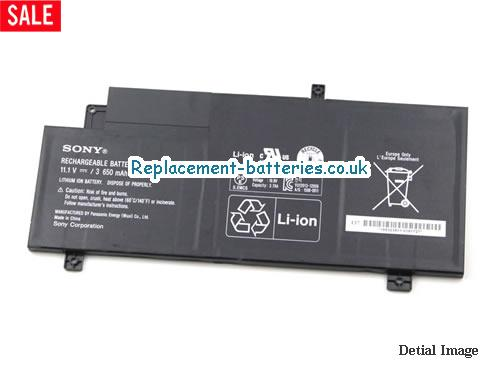 image 5 for  VAIO SVF15AA1QM laptop battery