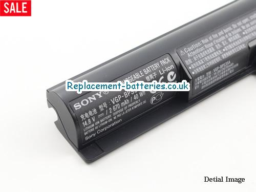 image 2 for  SVF152C29M laptop battery