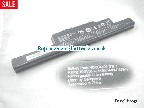 image 1 for  I40-4S2200-C1L3 laptop battery