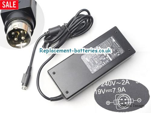 Genuine ACBEL API3AD25 Laptop AC Adapter 19V 7.9A 150W
