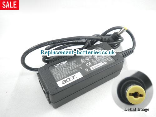 Genuine ACER AOA150-1329 Laptop AC Adapter 19V 1.58A 30W