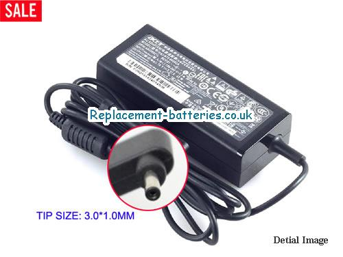 Genuine ACER 121581-11 Laptop AC Adapter 19V 2.37A 45W