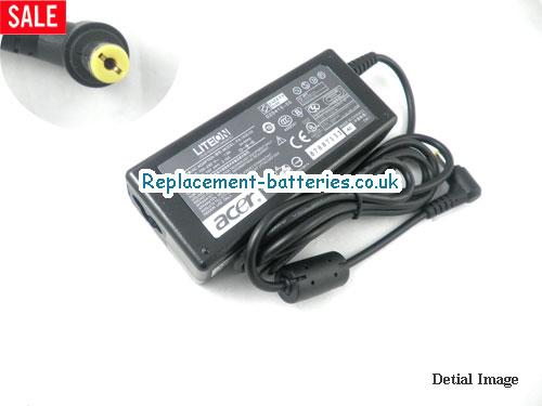 Genuine ACER TravelMate 730TXV Laptop AC Adapter 19V 3.16A 60W