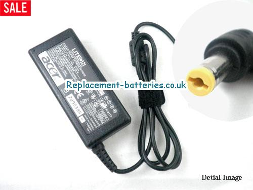 Genuine ACER TRAVEL MATE 213TX Laptop AC Adapter 19V 3.42A 65W