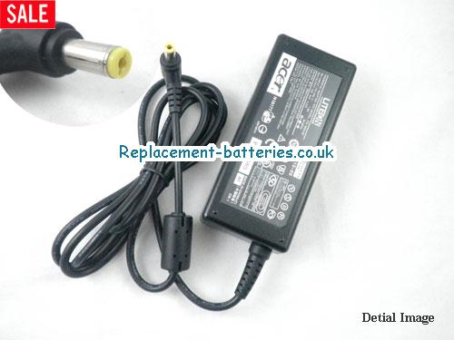Genuine ACER TRAVEL MATE 211 Laptop AC Adapter 19V 3.42A 65W