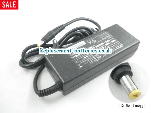 Genuine ACER FERRARI 3200 Laptop AC Adapter 19V 4.74A 90W