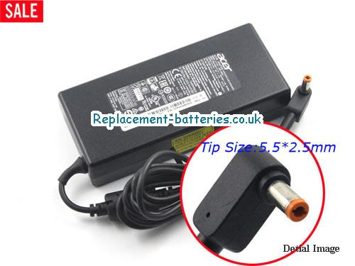 Genuine ACER SADP-135EB Laptop AC Adapter 19V 7.1A 135W
