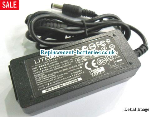 Genuine MSI U115 Laptop AC Adapter 20V 2A 40W