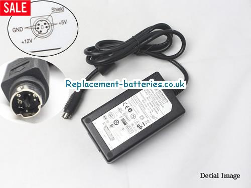 Genuine APD AD6008 Laptop AC Adapter 12V 1.5A 18W