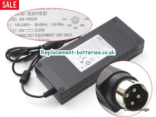 Apd Laptop AC Adapter 24V 6.25A
