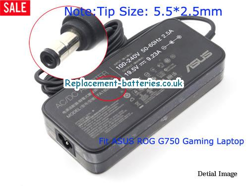 Genuine ASUS 0A001-00260100 Laptop AC Adapter 19.5V 9.23A 180W