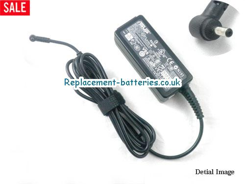 Genuine ASUS 1001PXD Laptop AC Adapter 19V 1.58A 30W
