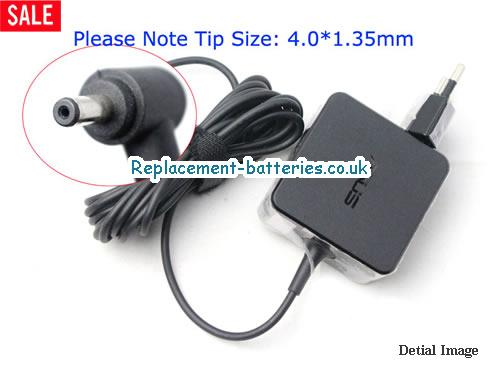 Genuine ASUS EXA1206EH Laptop AC Adapter 19V 1.75A 33W