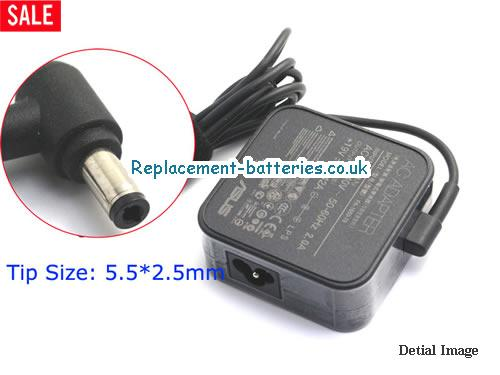 Genuine ASUS W5F Laptop AC Adapter 19V 3.42A 65W