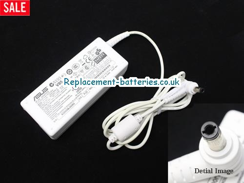 Genuine ASUS A2H Laptop AC Adapter 19V 3.42A 65W