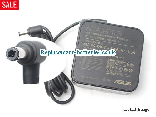 Genuine ASUS X43 Laptop AC Adapter 19V 4.74A 90W