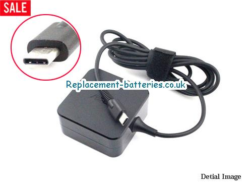 Asus Laptop AC Adapter 20V 2.25A