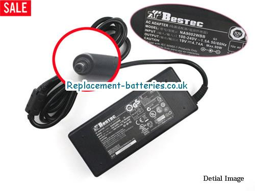 Genuine BESTEC NA9002WBB Laptop AC Adapter 19V 4.74A 90W