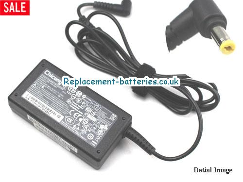 Genuine ACER AC-OK065B13 Laptop AC Adapter 19V 3.42A 65W