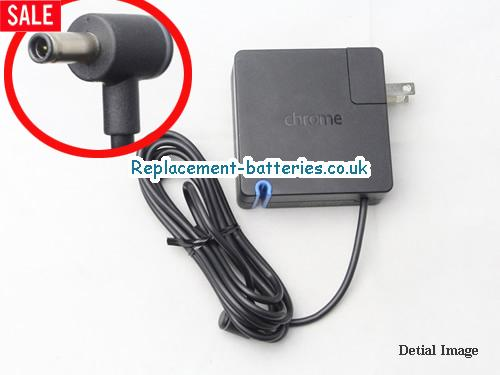 Genuine CHROME CHROMEBOOK PIXEL Laptop AC Adapter 12V 5A 60W