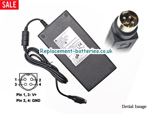 Delta Laptop AC Adapter 48V 3.125A