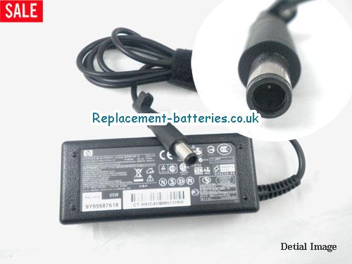 Genuine HP HP Compaq nx6115 Notebook PC Laptop AC Adapter 18.5V 3.5A 65W