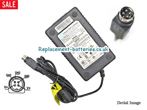Genuine CWT PAA060F Laptop AC Adapter 12V 5A 60W