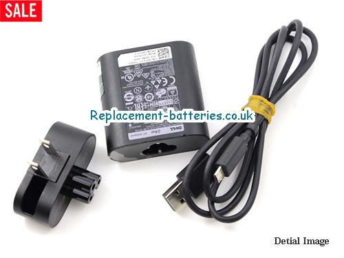 Genuine DELL 77GR6 Laptop AC Adapter 19.5V 1.2A 23W