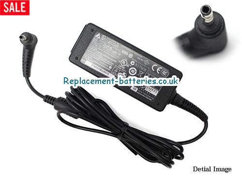 Genuine ACER S235HL Laptop AC Adapter 19V 2.1A 40W