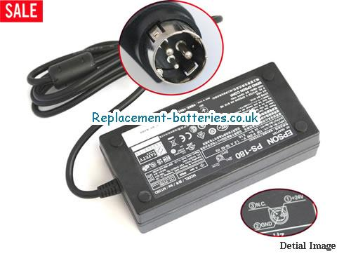 Genuine ESPON M159D Laptop AC Adapter 24V 2.1A 50W