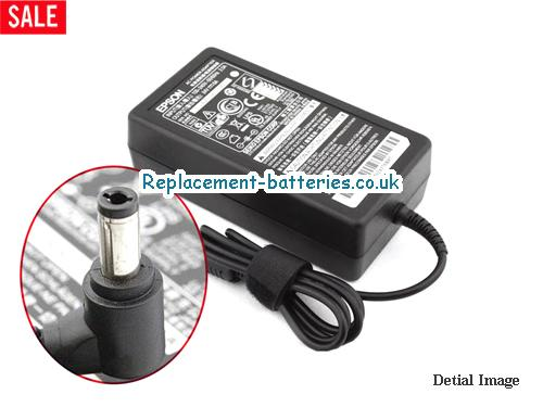 Genuine ESPON 4A3ALED Laptop AC Adapter 24V 6A 144W