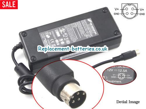Genuine DELTA DPS-150NB-1 B Laptop AC Adapter 12V 12.5A 150W