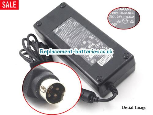 Genuine FSP FSP135-AAAN1 Laptop AC Adapter 24V 5.62A 135W