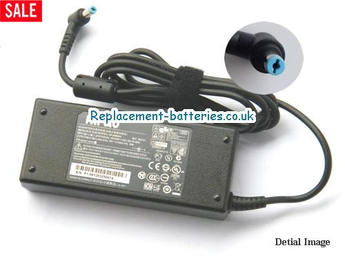 Genuine ACER HP-OL093B13P Laptop AC Adapter 19V 4.74A 90W