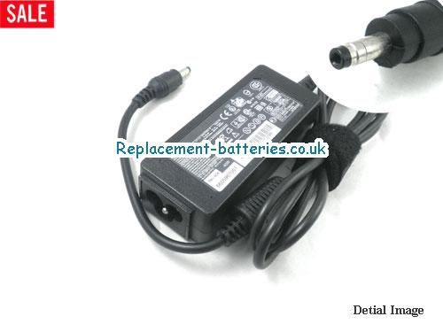 Genuine HP MINI 210-1040NR Laptop AC Adapter 19.5V 2.05A 40W