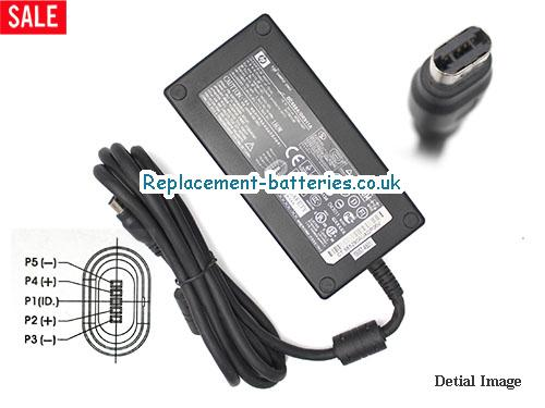 Genuine HP zd8217EA Laptop AC Adapter 19V 9.5A 180W