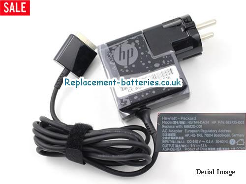 Genuine HP ELITEPAD 1000 BNBPC Laptop AC Adapter 9V 1.1A 10W