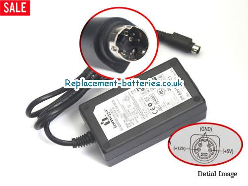 Genuine IOMEGA 31426900 Laptop AC Adapter 12V 1.5A 18W
