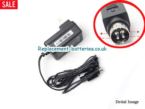 Genuine ISO KPC-024F-C Laptop AC Adapter 12V 2A 24W