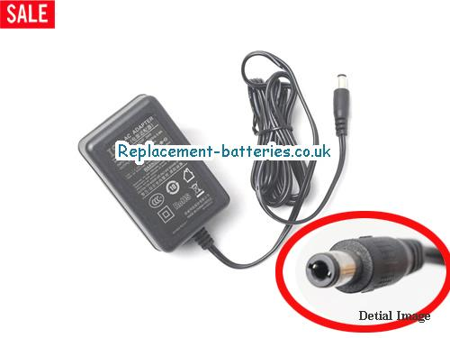 Genuine ISO KPC024F Laptop AC Adapter 12V 2A 24W