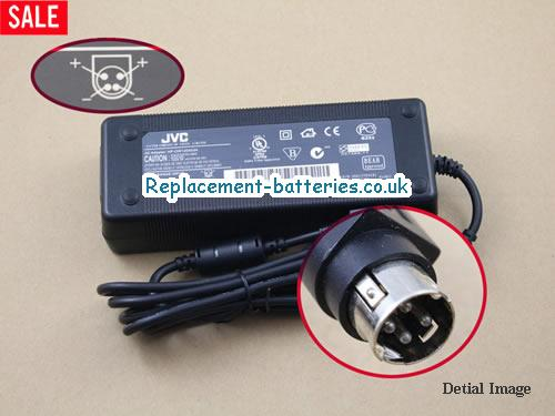 Genuine JVC HP-OW120A34 Laptop AC Adapter 24V 5A 120W