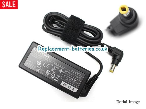 Genuine KOHJINSHA SC3WP06GA Laptop AC Adapter 16V 2.8A 45W