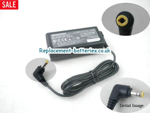 Genuine KOHJINSHA DA-40B19 Laptop AC Adapter 19V 2.1A 40W