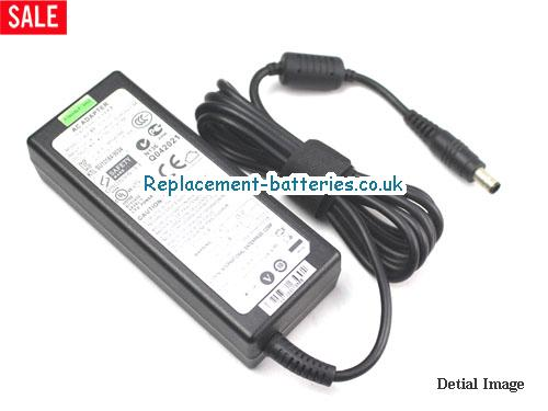 Genuine KTL 0455A1990 Laptop AC Adapter 19V 4.74A 90W
