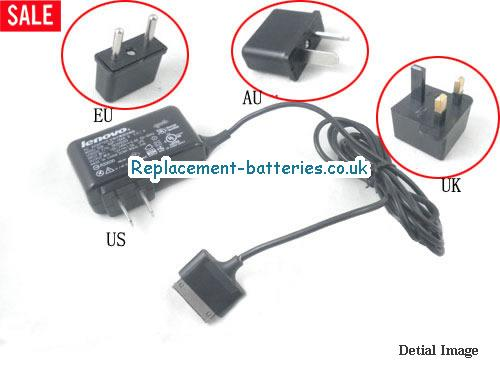 Genuine LENOVO PAD Y1011 Laptop AC Adapter 12V 1.5A 18W