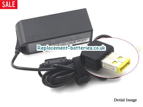 Genuine LENOVO 4X20E75067 Laptop AC Adapter 12V 3A 36W
