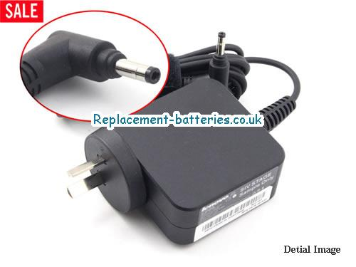 Genuine LENOVO  A10H43621 Laptop AC Adapter 20V 2.25A 45W