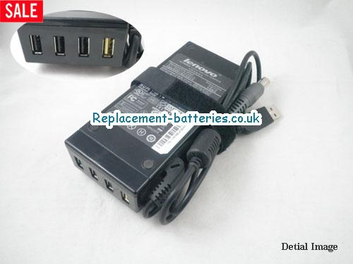 Genuine LENOVO ThinkPad R61 Laptop AC Adapter 20V 3.25A 65W